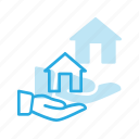 apartment, care, home, house, real, setate, share icon