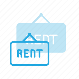 hanger, home, house, real, rent, setate, sign icon
