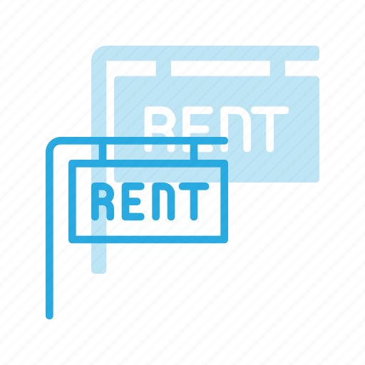 home, house, real, rent, setate, sign icon