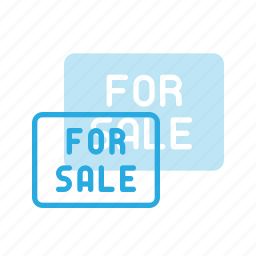 home, house, real, sale, setate, sign icon