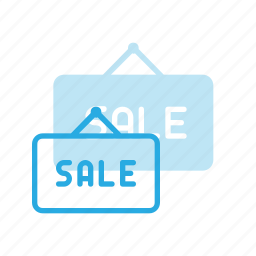 hanger, home, house, real, sale, setate, sign icon