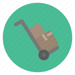 package, real estate, shipping icon