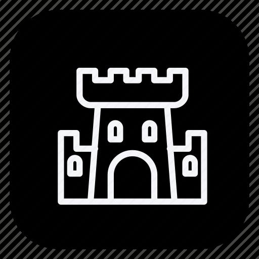 architecture, building, castle, estate, monument, property, real icon