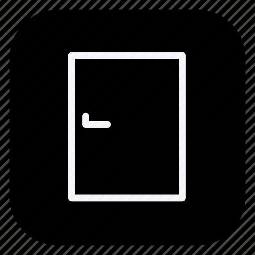 building, close door, door, estate, monument, property, real icon