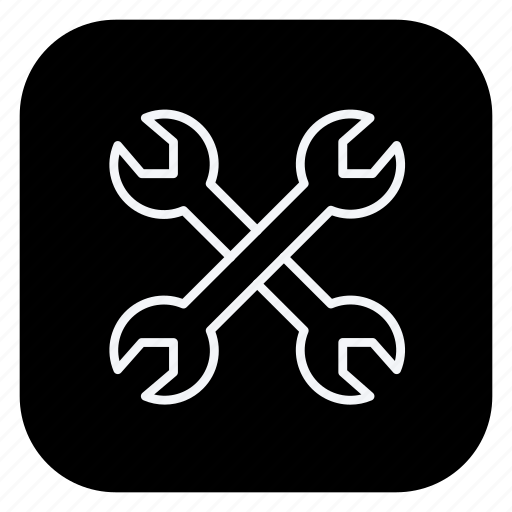 architecture, building, estate, monument, property, real, wrench icon