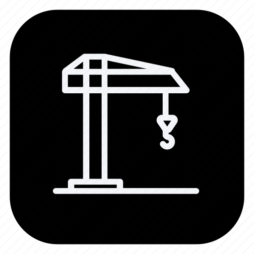 architecture, building, crane, estate, monument, property, real icon