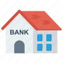 bank, building, estate, property, real