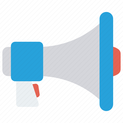 Announcement, loud, marketing, megaphone, speaker icon - Download on Iconfinder