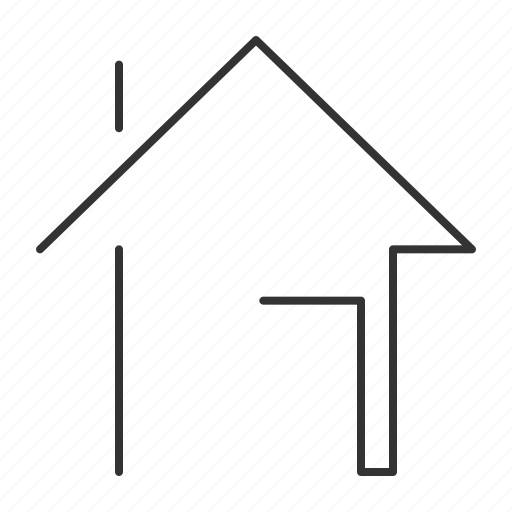building, estate, home, house, property, real, real estate icon