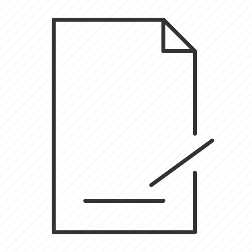 agreement, document, pen, sign, sign document, sign here, signature icon
