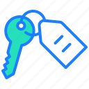 key, protection, safe, security, smart home icon