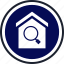 find, home, house icon