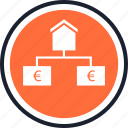 estate, house, strategy icon
