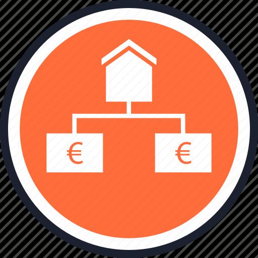 estate, house, strategy icon
