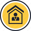 realtor, house, equity, home icon