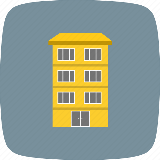 building, flats, office icon