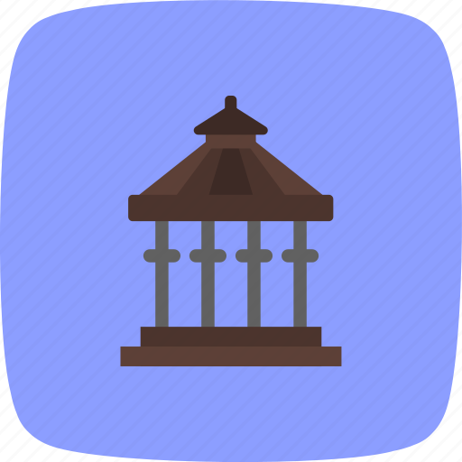 balcony, porch, veranda icon
