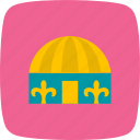 hut, tent, yurt icon