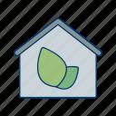 eco, eco home, ecological house, ecology, green house, house, passive house icon