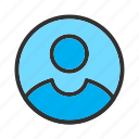 avatar, person, profile, user icon