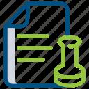 document, extension, file, folder, legal, paper, script