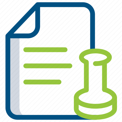 document, extension, file, folder, legal, paper, script icon