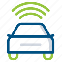 car, mobility, online, smart, taxi, transport, vehicle icon