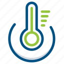 degree, hot, phone, smart, smartphone, thermometer, thermosfet icon