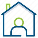 building, construction, estate, home, house, tenant, tool icon
