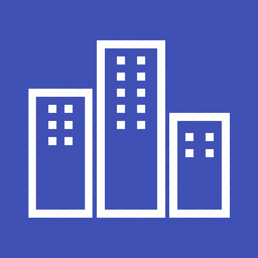 apartments, architecture, building, home, house, property, residential icon