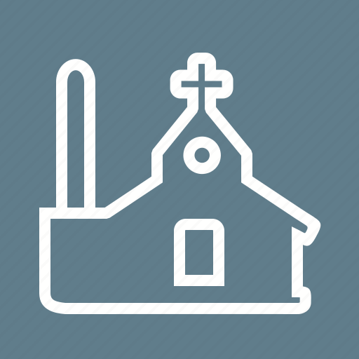 building, christian, christianity, church, church bell, religion, tower icon
