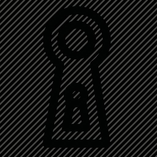 closed, key, lock, open icon