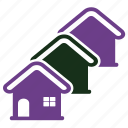 apartment, cottage, hotel icon