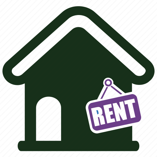 for rent, property, rent icon