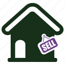 home value, sell, sold icon