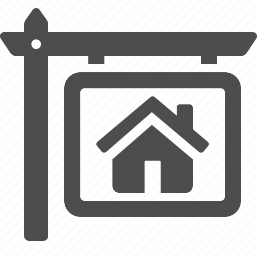 buy, home, house, real estate, rent, sale, sign icon