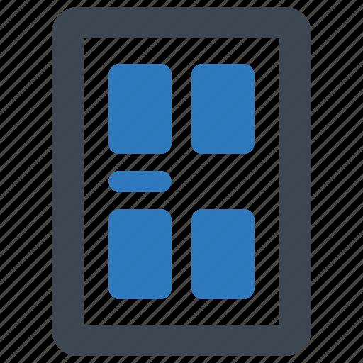 apartment, door, home, house icon