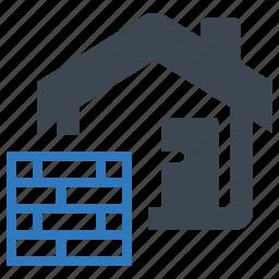 block, brick, contruction icon