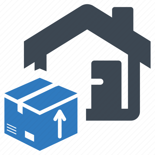 box, delivery, home, house icon