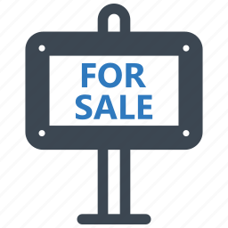 for, sale, sign icon