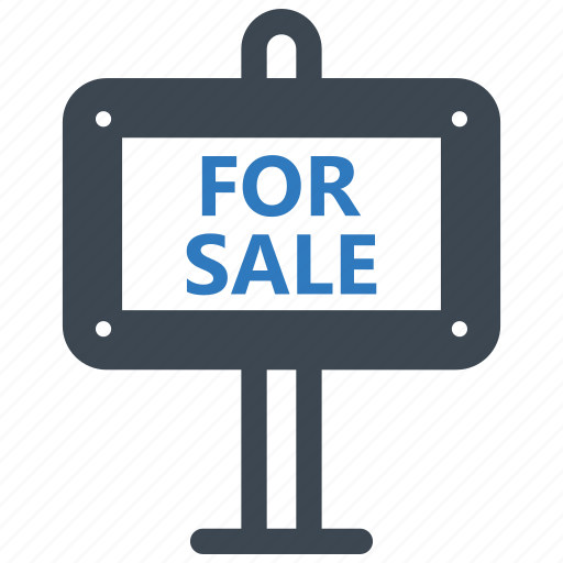 Sale, for, sign icon