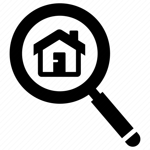 estate, find, real, search icon