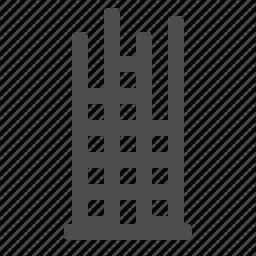 building, construction, real estate, scaffolding icon