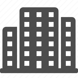 apartment building, building, buildings, flats, office building, real estate, skyscrapers icon