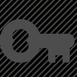 antique, key, password, real estate icon