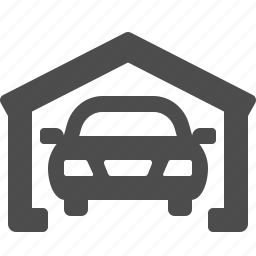 car, car wash, garage, real estate, vehicle icon