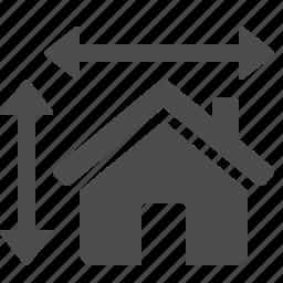 architect, blueprint, design, house, plan, real estate icon