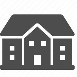 estate, house, mansion, real estate icon