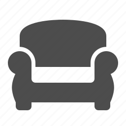 armchair, chair, home, living room, sofa icon