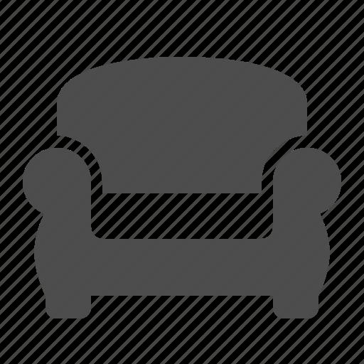 armchair, chair, home, living room, sofa icon